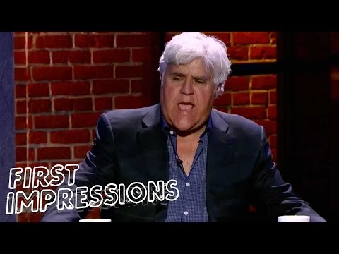 Jay Leno Interrupts As Dana Carvey Impersonates Him  First Impressions