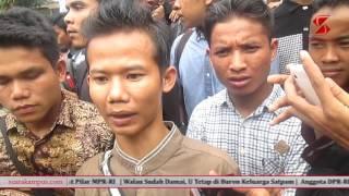 Mahasiswa Tuntut Satpam Dipecat