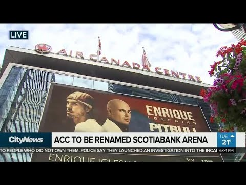 Air Canada Centre changing name to Scotiabank Arena next summer