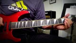 Marillion - Waterhole / Lords of The Backstage Guitar Cover Tutorial