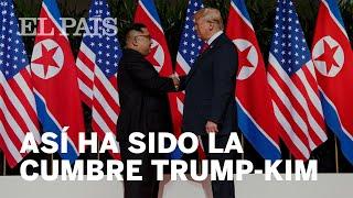 LA CUMBRE TRUMP-KIM JONG-UN, EN 5 MOMENTOS