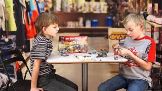 LEGO NinjaGO: Саша и Ян собирают Ниндзяго на КупиРебёнкуТВ(Инструкция по сборке конструктора LEGO NinjaGO от Саши и Яна. Обзор конструктора NinjaGO № 2254 Содержание: Страниц..., 2011-12-22T22:36:51.000Z)