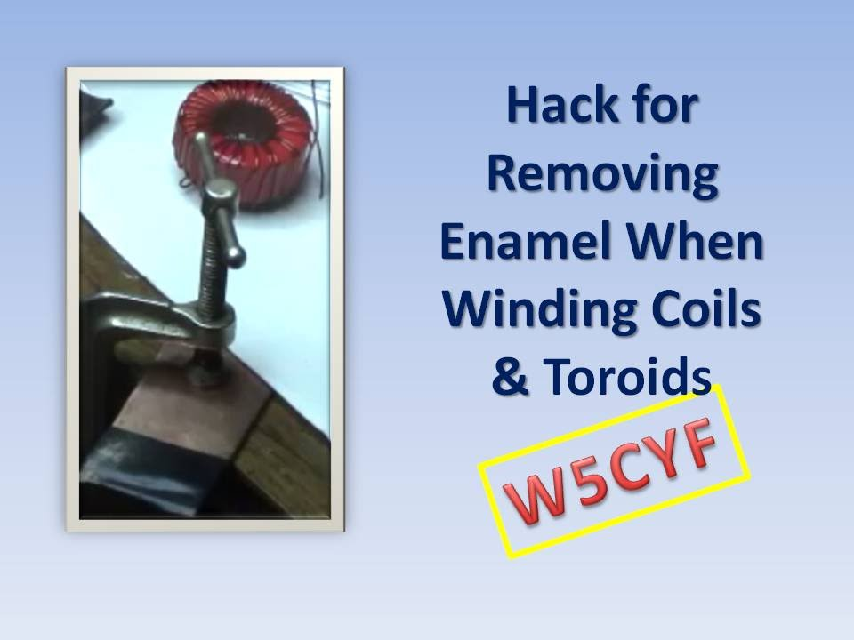 How To Remove Lacquer From Copper Wire