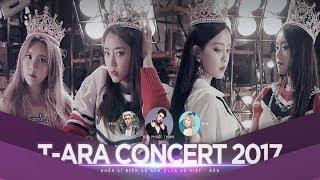 Tối 4/11, concert riêng của T-ara chính thức diễn ra tại SVĐ Phú Th...