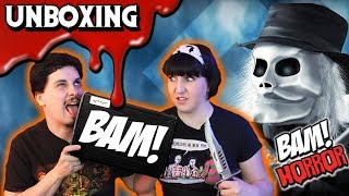 BAM BOX HORROR (May 2018) 💀 Unboxing Puppet Master & More!