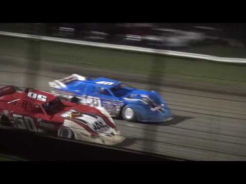 "IMCA Late Model Liberty 100 ""50"" lap feature West Liberty Raceway 9/24/16"