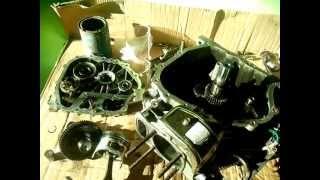 мотоблок зубр. 178F дизельный мотор. поломка зимой!!!.