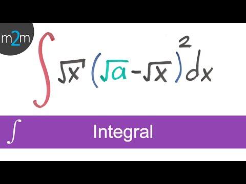 Integral de una función algebraica │ ejercicio 4