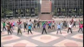 Flash Mob project: A message of peace