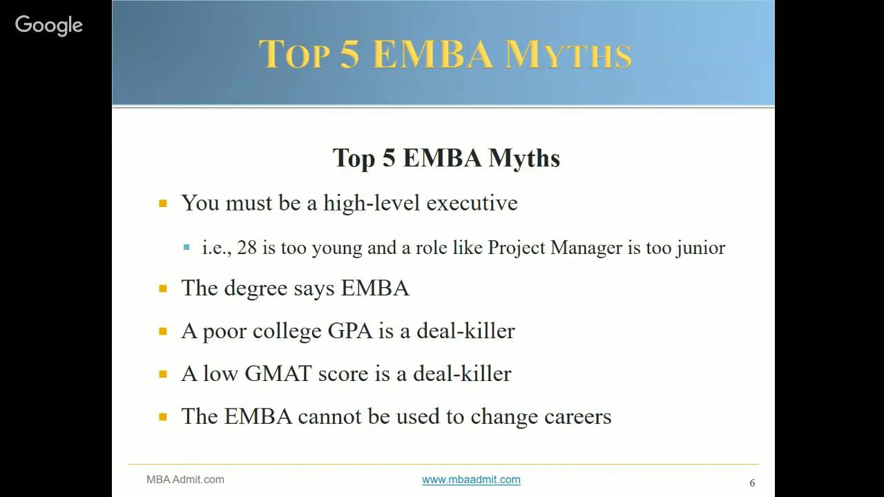 7 EMBA Success Practices: Getting Into A Top Program