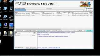 [PS3] BruteForce Savedata Tutorial