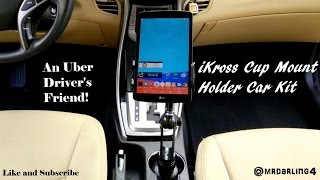 iKross Cup Mount Holder Car Kit Review