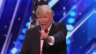 Donald Trump at Americas Got Talent