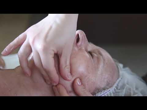Скульптурный массаж лица