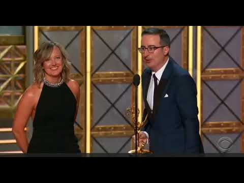 Emmys 2017 - John Oliver Wins His Second Emmy Award - John Oliver Acceptance Speech