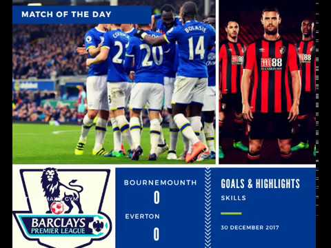bournemouth vs everton all goals and highlights 30 december 2017