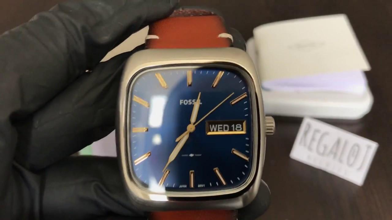 1a267cf8a2fe Reloj FOSSIL FS5334 Rutherford - UNBOXING FOSSIL Rutherford Watch FS5334  (Regaloj)
