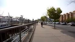 ⁴ᴷ⁶⁰ Walking NYC : Sheepshead Bay, Brooklyn (Avenue U, Nostrand Avenue, Emmons Avenue)