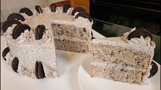 How to make a Oreo Cookie Cake from scratch