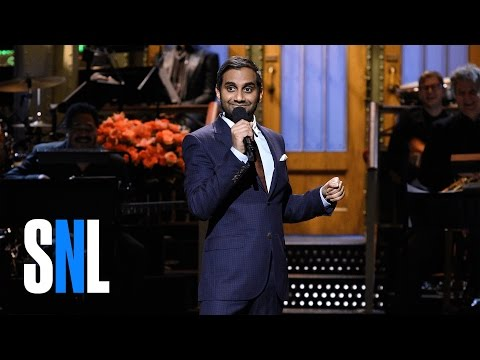 Aziz Ansari Stand-Up Monologue - SNL - YouTube