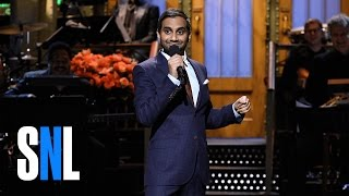 Video Aziz Ansari Stand-Up Monologue - SNL download MP3, 3GP, MP4, WEBM, AVI, FLV Juni 2018
