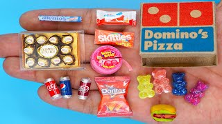 36 DIY MINIATURE FOOD AND SWEETS HACKS AND CRAFTS !!!!