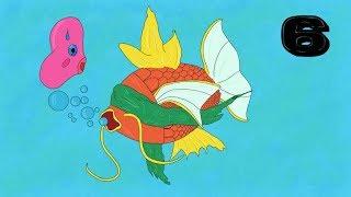 Der Relaxo Skip Glitch 🐠 6 Karpadore vs. Pokemon Gelb (#006)