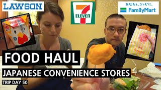 TOKYO CONVENIENCE STORE DINNER (Family Mart, Lawson + 7-Eleven)