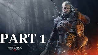 The Witcher 3 Wild Hunt Part 1 PS4 Gameplay - The Hunt Begins! No Commentary