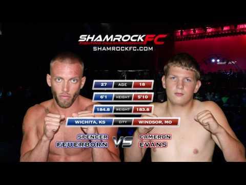 Shamrock FC 291 Spencer Feuerborn vs Cameron Evans