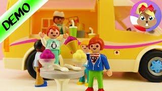 Playmobil LODZIARNIA dla Emmy + Juliana Wróblewskich! ICE CREAM TRUCK IN PLAYMOBIL CITY!