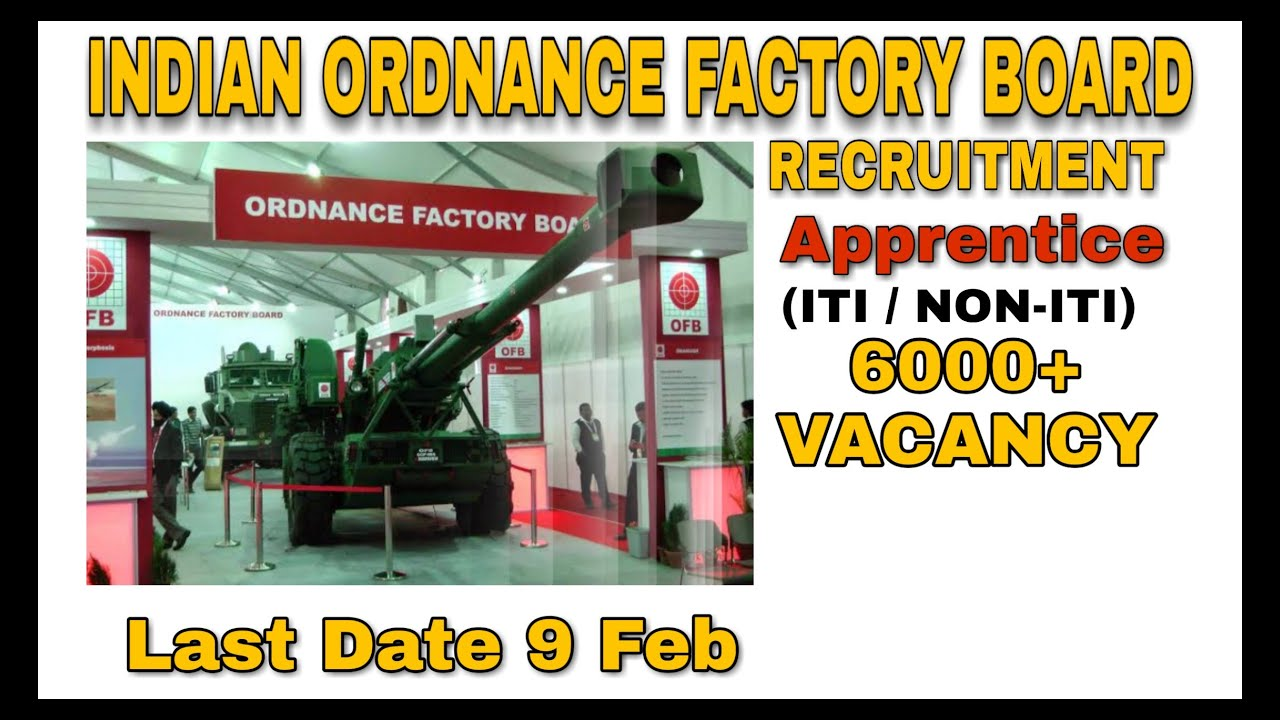 Image result for 6,000 jobs, ordnance equipment factories