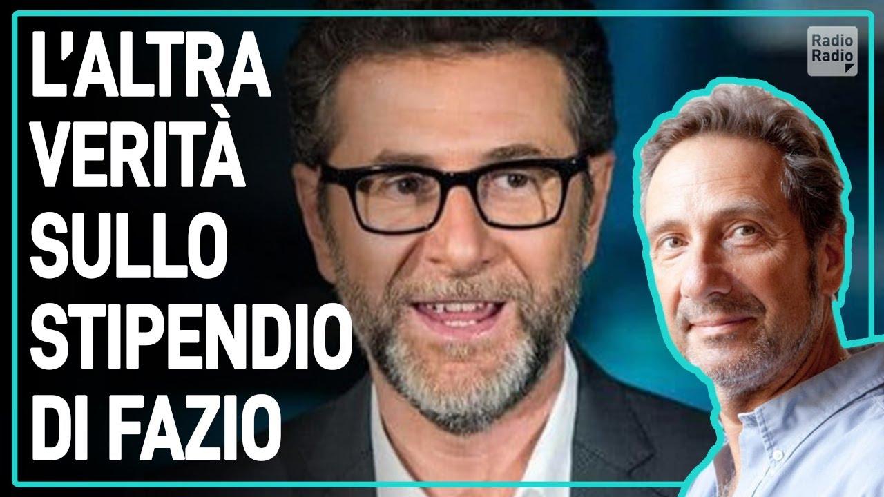 L'ALTRA VERITÀ SULLO STIPENDIO DI FABIO FAZIO - Mario Tozzi - YouTube