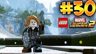 LEGO MARVEL SUPER HEROES 2 GAMEPLAY PART 30 Deutsch 100% - Hawkeye & Black Widow | EgoWhity