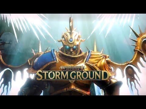 Warhammer Age of Sigmar: Storm Ground - Gameplay Overview Trailer |