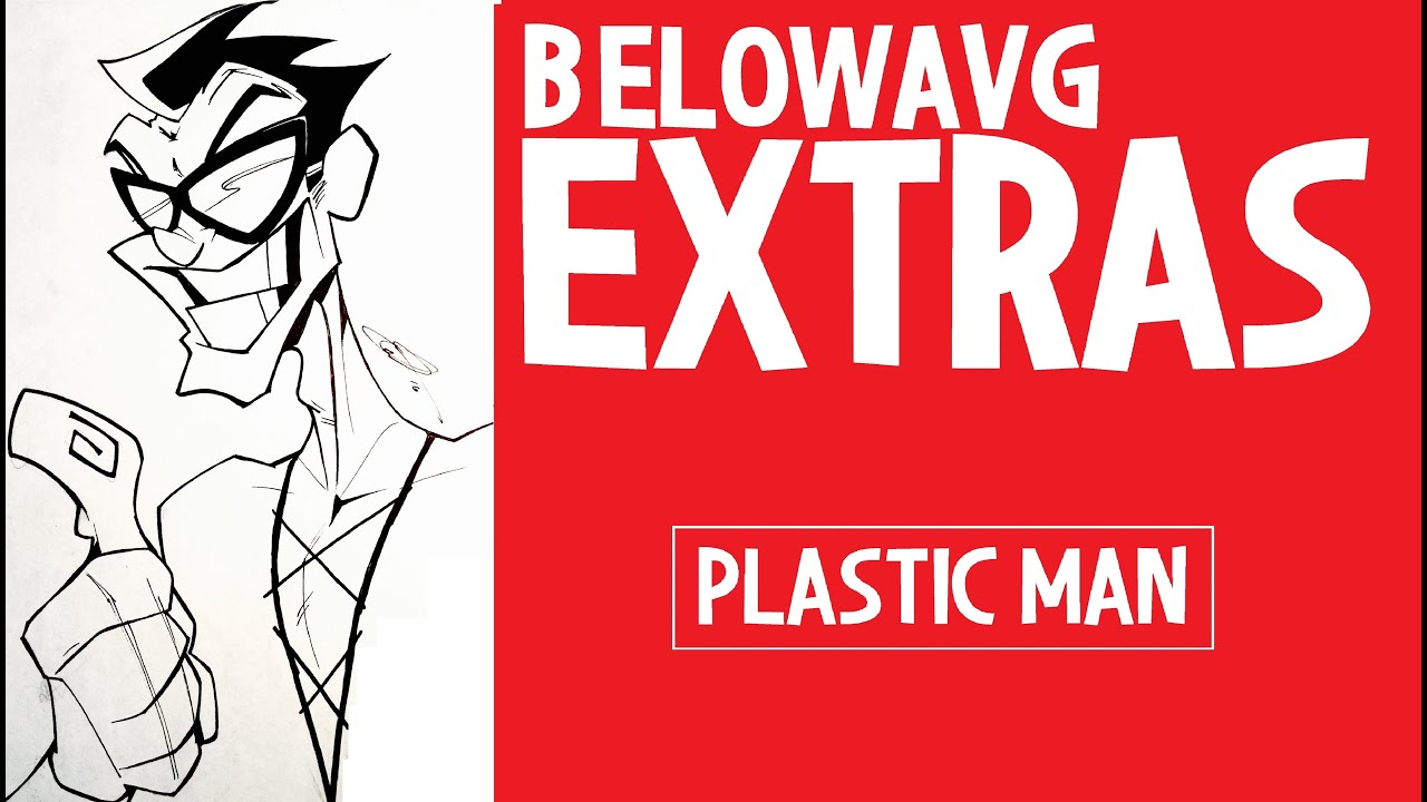 how to draw plastic man