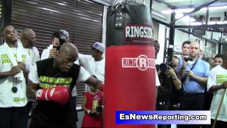 Floyd Mayweather to Seckbach: You're a Hater