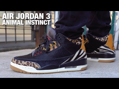 Air Jordan 3 Animal Instinct REVIEW & On Feet