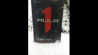 R1 Pretrain review, Rule 1 Proteins, Preworkout review! Blue Raspberry(Sample review of R1 Pretrain preworkout supplement. I cover ingredient list, taste, mixability, cost per serving, and post gym wrap-up of performance., 2016-01-21T12:09:09.000Z)