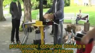 видео Дровокол электрический вертикальный  AL-KO LHS 7000