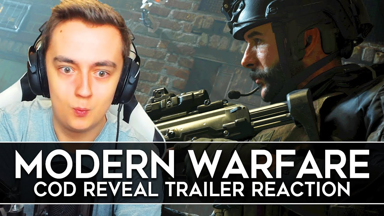 Download Call of Duty Modern Warfare Reveal Trailer REACTION! (COD 2019)