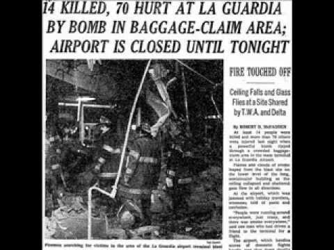 Radio Program Interrupted with Report on Dec. 29, 1975 LaGuardia Airport Bomb