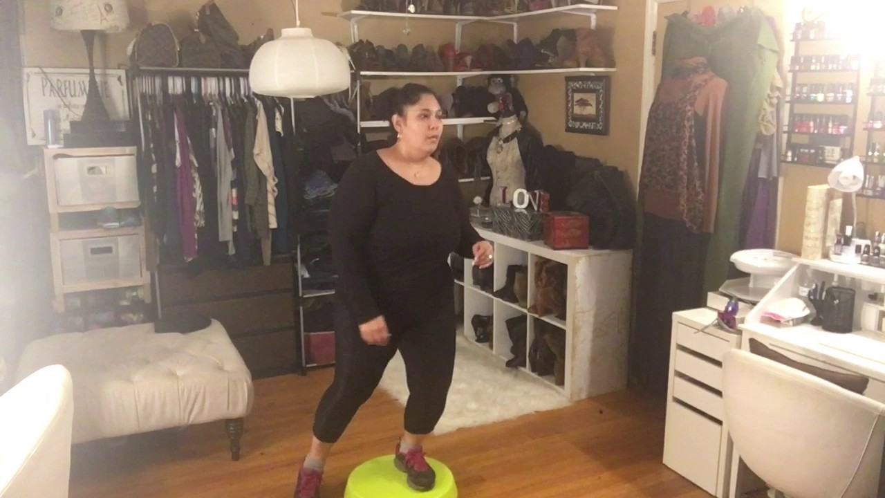 d6326c1cd67 Plus size Fitness Weight Loss. Zumba Step.. - YouTube
