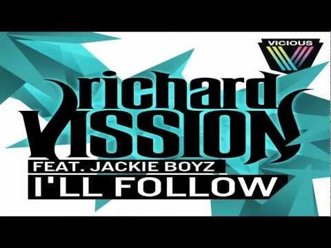 Richard Vission ft. Jackie Boyz - I'll Follow (Lyric Video)