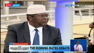 """President if you are hearing me you must come to the debate..."" Miguna Miguna"