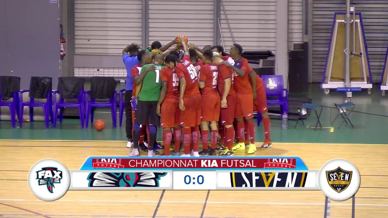 Kia Futsal Guadeloupe 20e Journée : FAX vs SEVEN au Palais des sports Gosier.Karudreams Réalisation