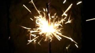 iskry czyli tzw zimne ognie wcale nie zimne sparks stick magic fire