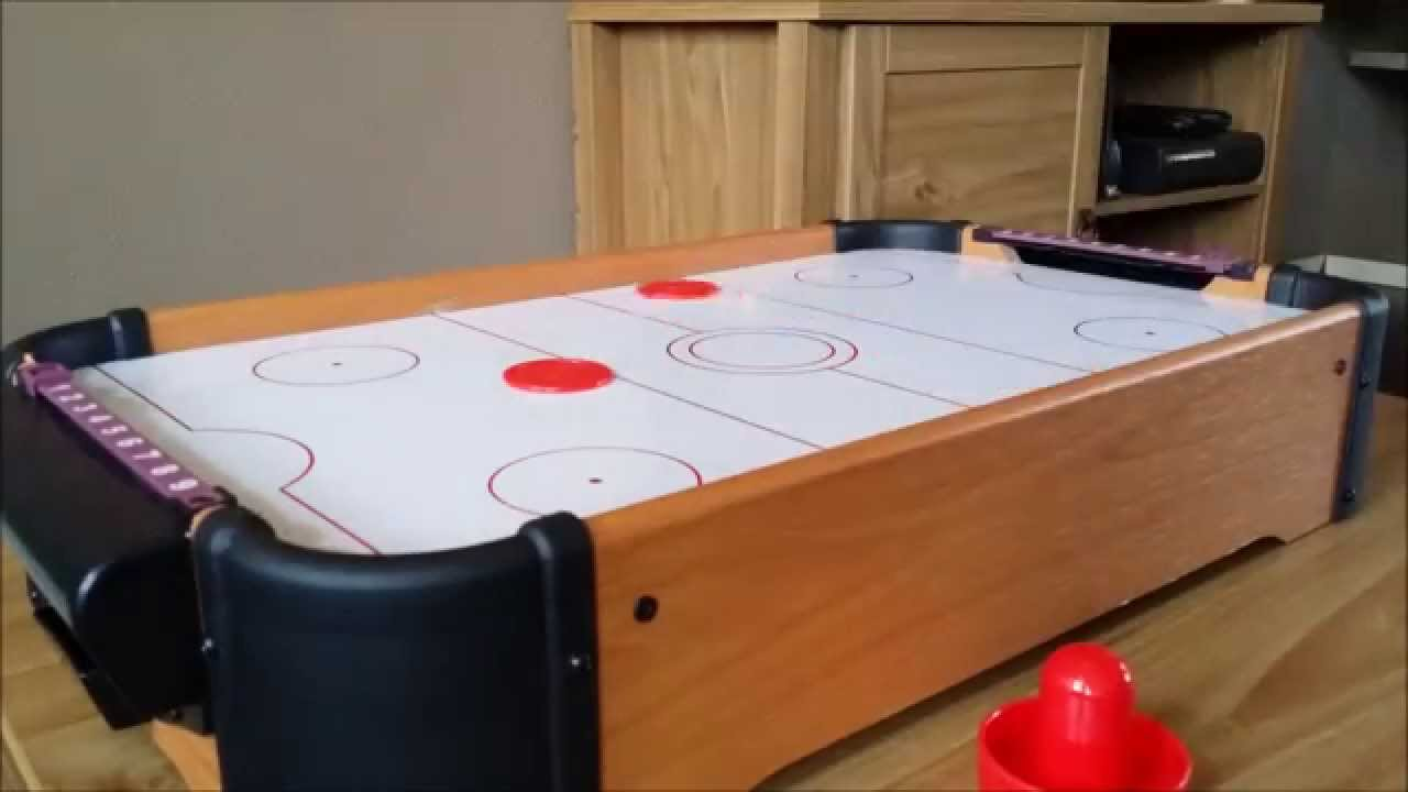 Delicieux My Mini Air Hockey Table Game (in Great Detail And HD)   YouTube