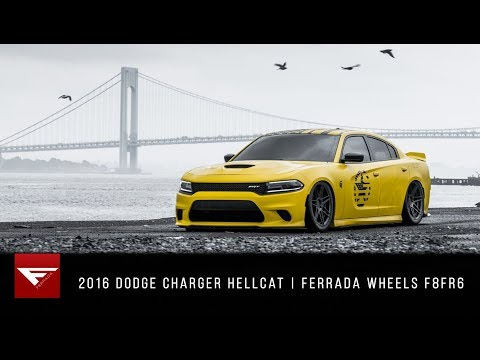 2016 Dodge Charger Hellcat | HELLGATO LOCKED IN! | Ferrada Wheels F8FR6