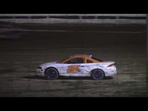 Hummingbird Speedway (7-8-17): Aaron's of DuBois Front-Wheel Drive Four-Cylinder Feature